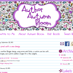Author Autumn Bloom - Blogger