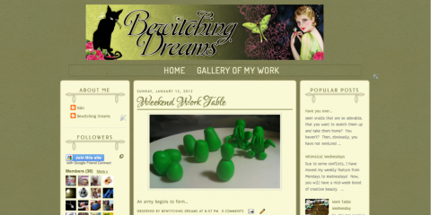 Bewitching Dreams - Blogger